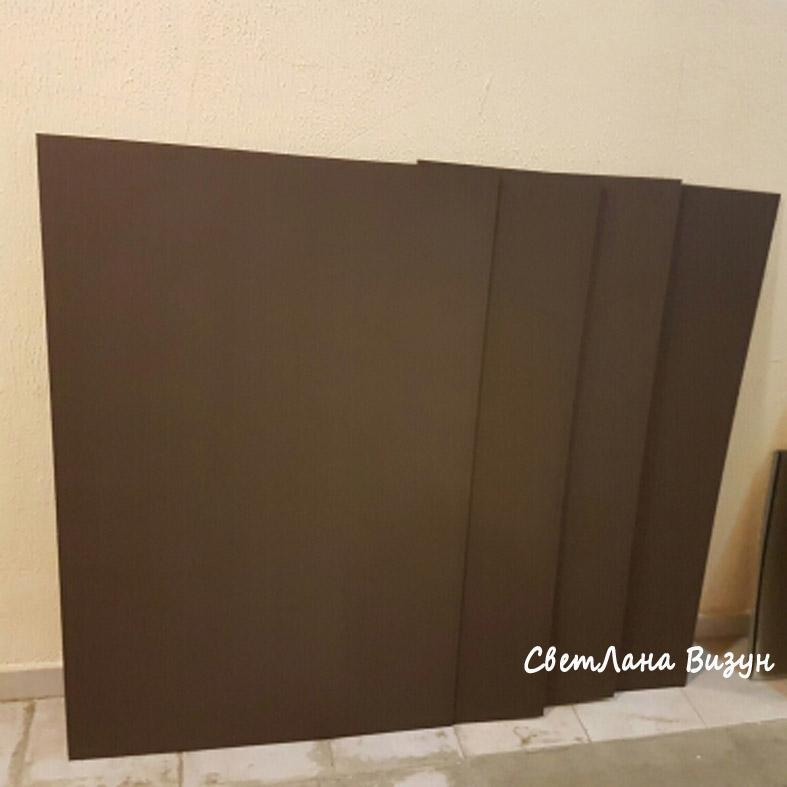 коричневые меловые доски