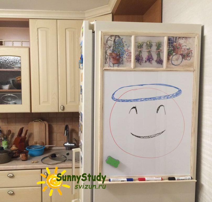 маркерная доска для маркеров прованс на кухню sunnystudy