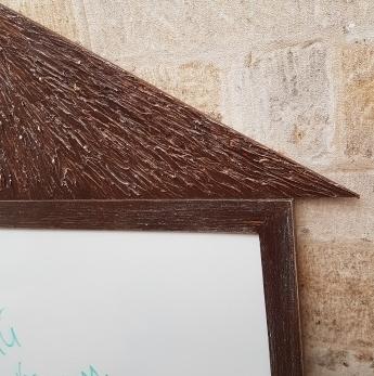 рельеф крыши магнитно-маркерного домика