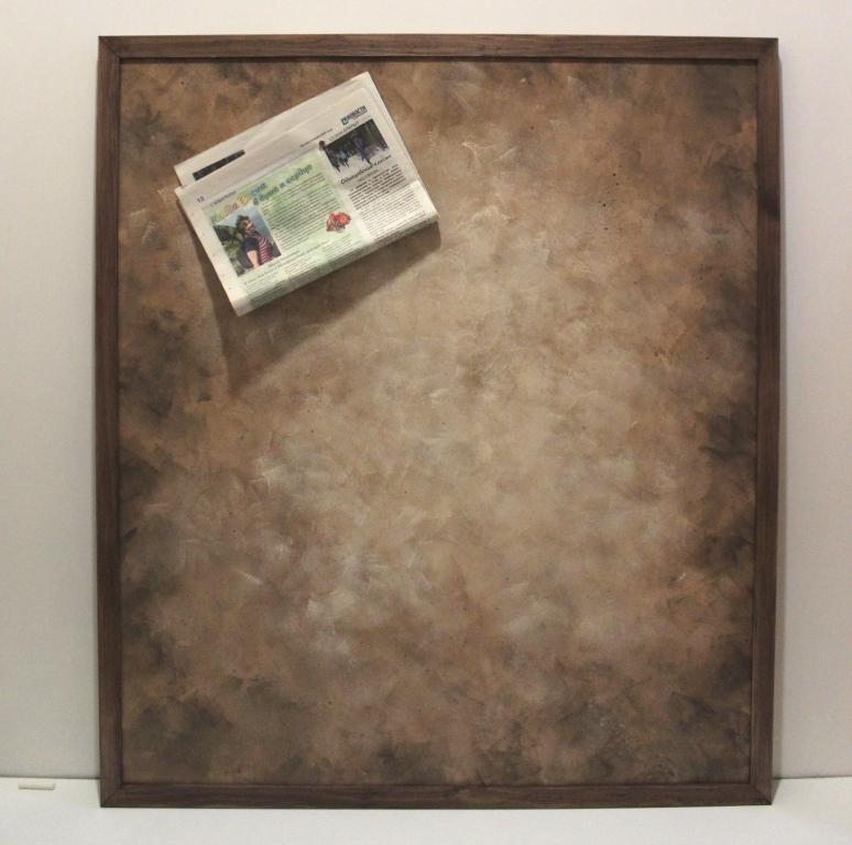 интерьерная магнитная доска пергамент на заказ