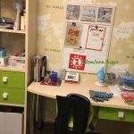 магнитно-маркерная доска для школьника на рабочее место