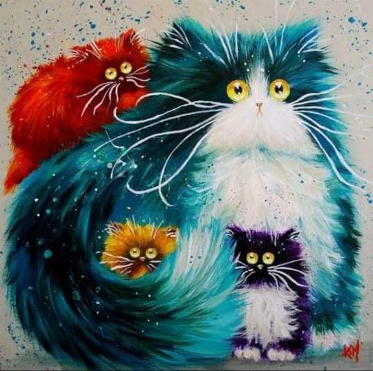 уроки рисования одинцово котики картина