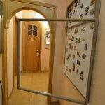 Магнитная доска с открывающейся дверцей со стеклом
