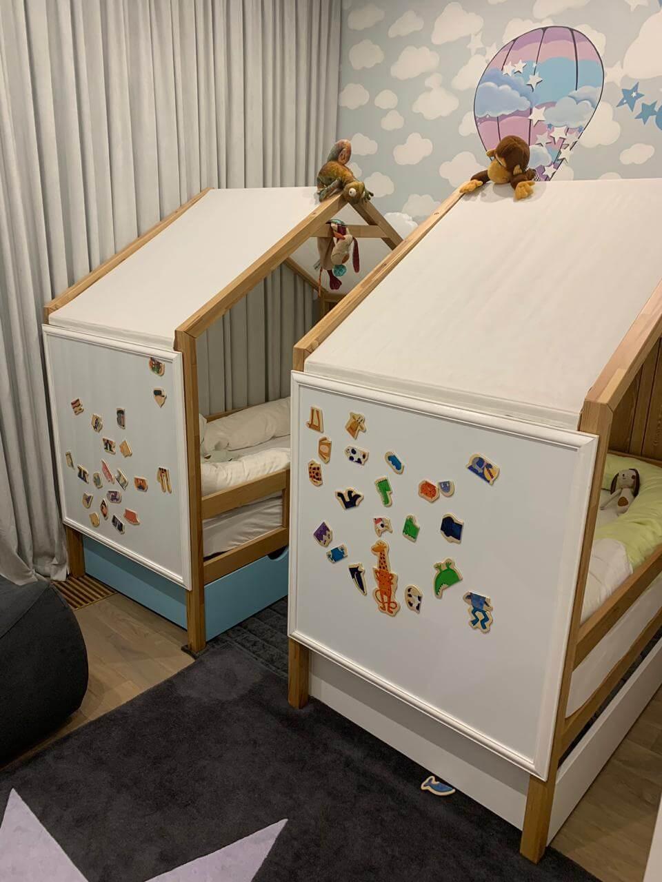 Магнитно-маркерные доски в детской комнате
