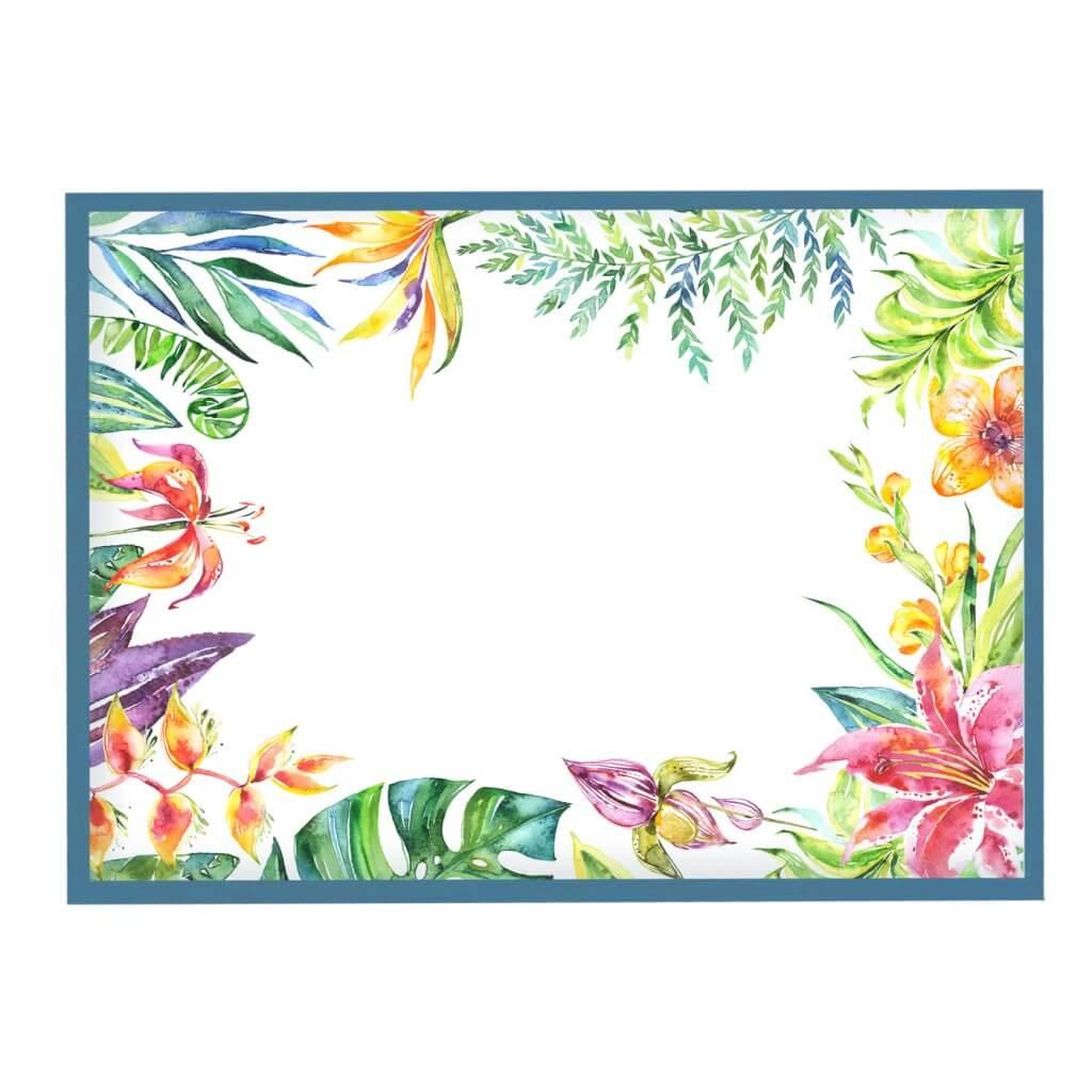 магнитно-маркерная доска цветы 55х75 см