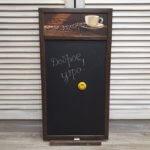 Магнитно меловая доска для записей Кофе, 34х64см, 3600р