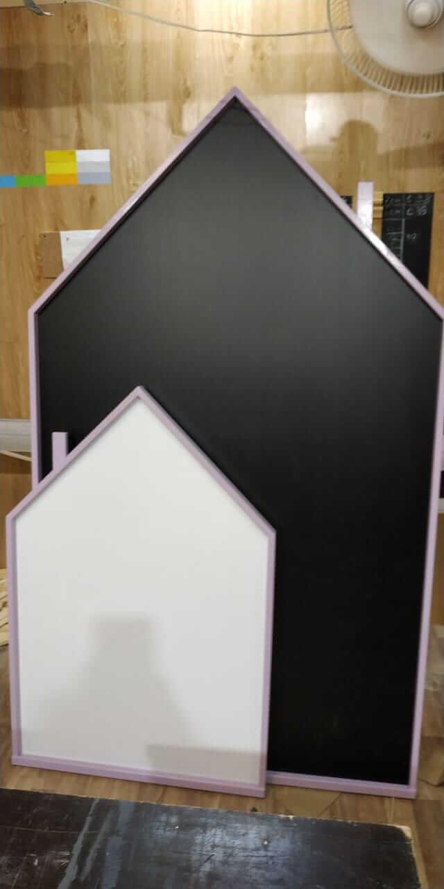 Магнитная доска домик для рисования