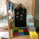 Меловая доска домик в детскую